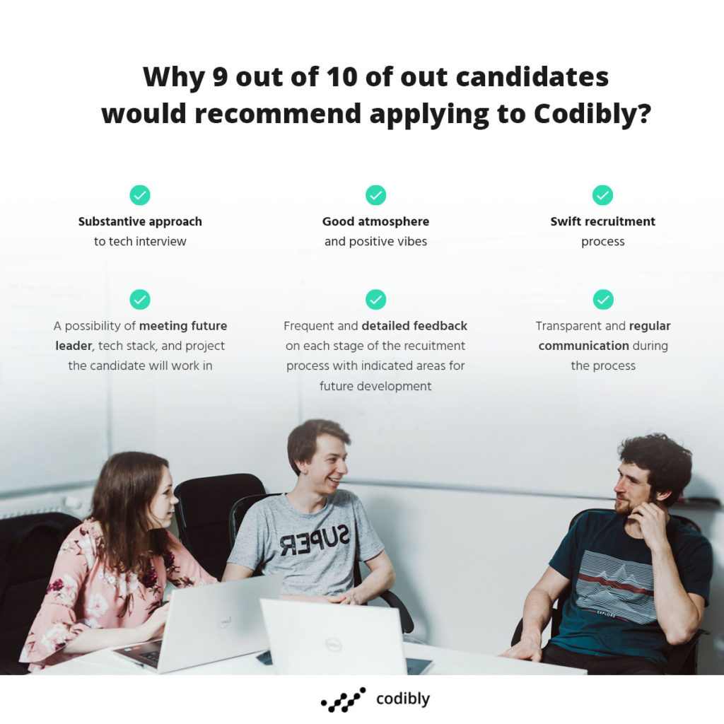 infographic_Candidate-experience-why-90%-of-our-candidates-would-recommend-applying-to-Codibl